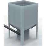 stoccaggio pellet in silos esterno geoboxs