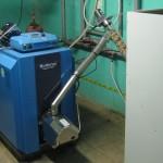 caldaia a pellet con FIREFOX UNI 60 KW
