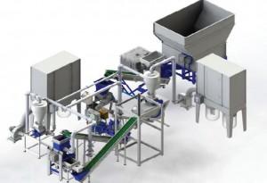 configurazione completa impianto produzione pellet